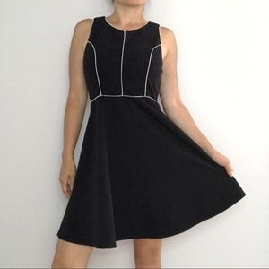 💃🏾 Monteau Women's Black Flare Mini Dress 💃🏾